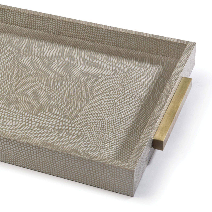 Regina Andrew Square Shagreen Boutique Tray-Functional Display-Regina Andrew-ModLux_Living_furniture