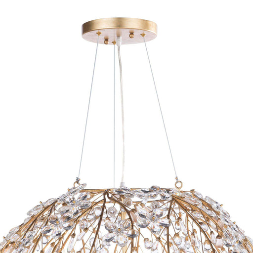 Regina Andrew Cheshire Chandelier (Large)-Ceiling Fixtures-Regina Andrew-16-1173GL-ModLux_Living_furniture