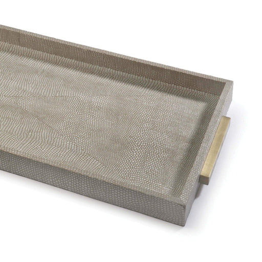 Regina Andrew Rectangle Shagreen Boutique Tray-Tray-Regina Andrew-ModLux_Living_furniture
