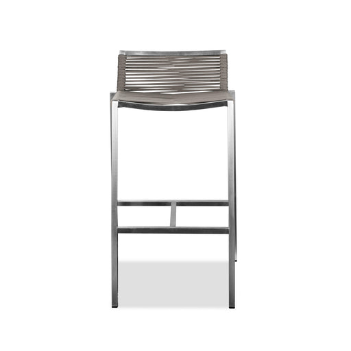 Stone Indoor/Outdoor Rope Barstool (Set of 4)-Outdoor Barstool-Whiteline-ModLux_Living_furniture