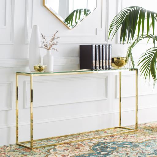 Surya Wyman WMN-001 Console Table-Console-Surya-WMN-001-ModLux_Living_furniture