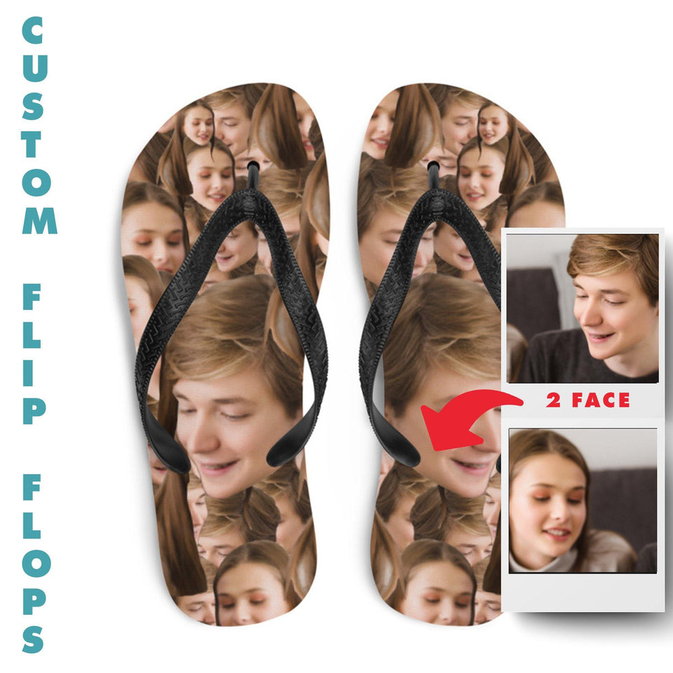 Custom Photo Flip Flops - SecondSkin Store