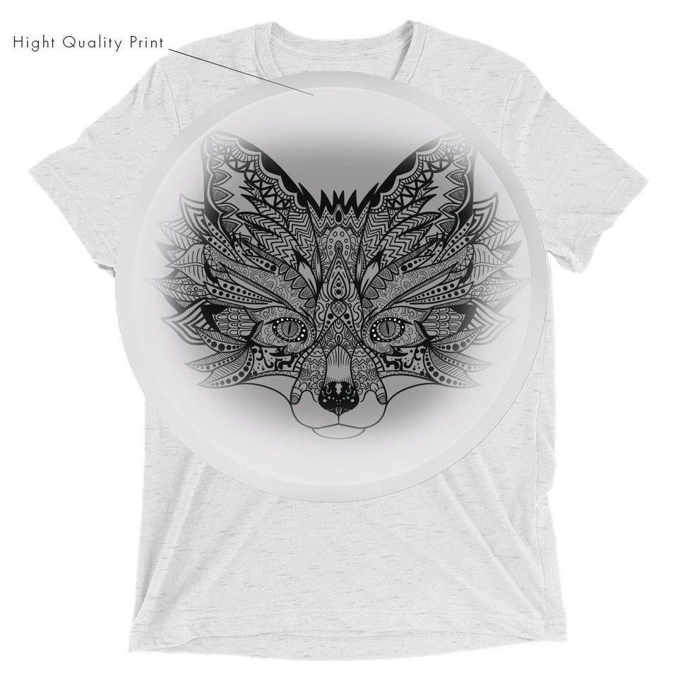 Fox MandalaSkin T-Shirt v.2 - SecondSkin Store