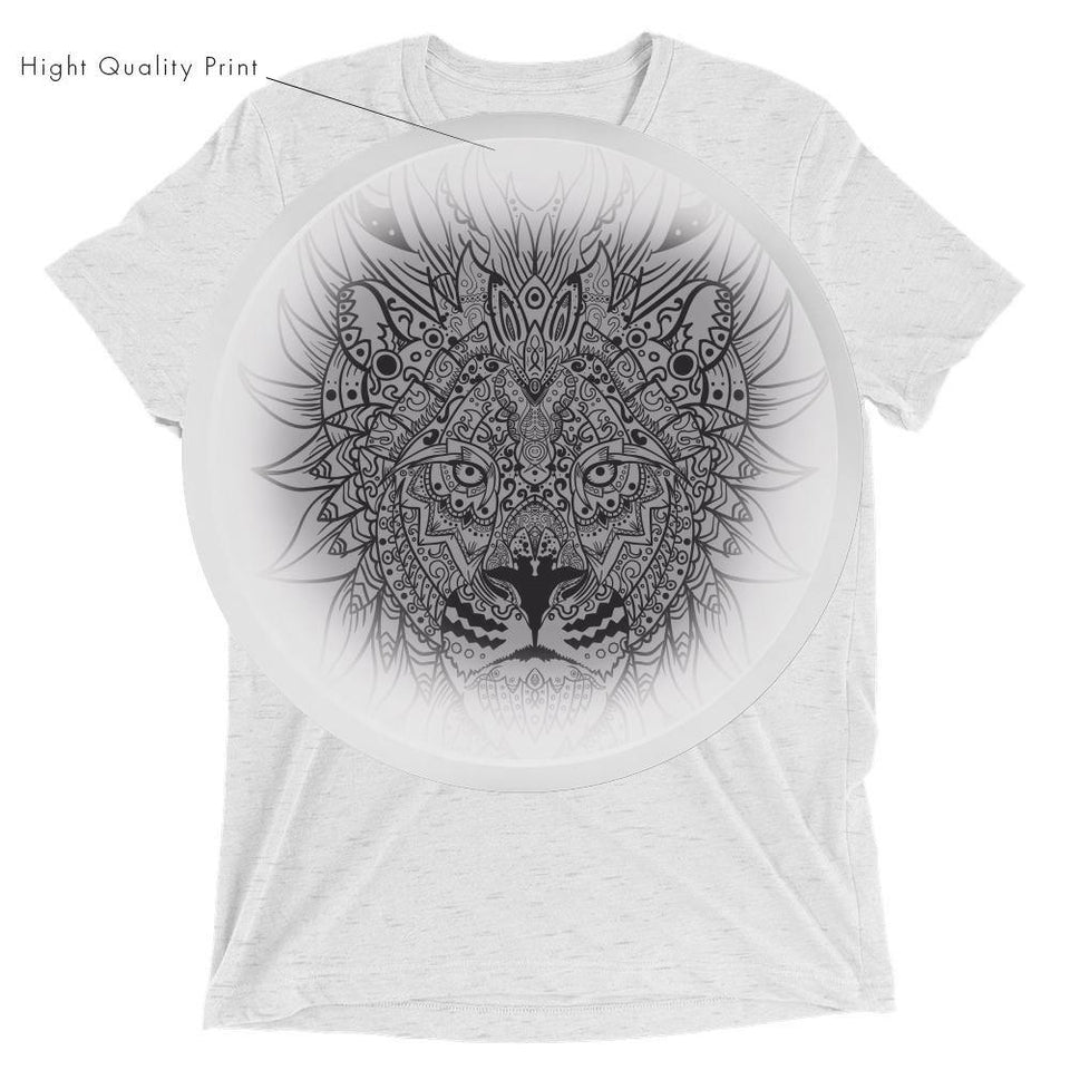 Lion MandalaSkin T-Shirt v.2 - SecondSkin Store