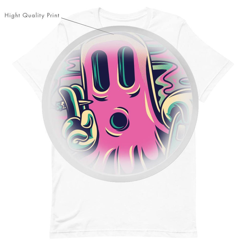 Sketball Ghost T-Shirt - SecondSkin Store
