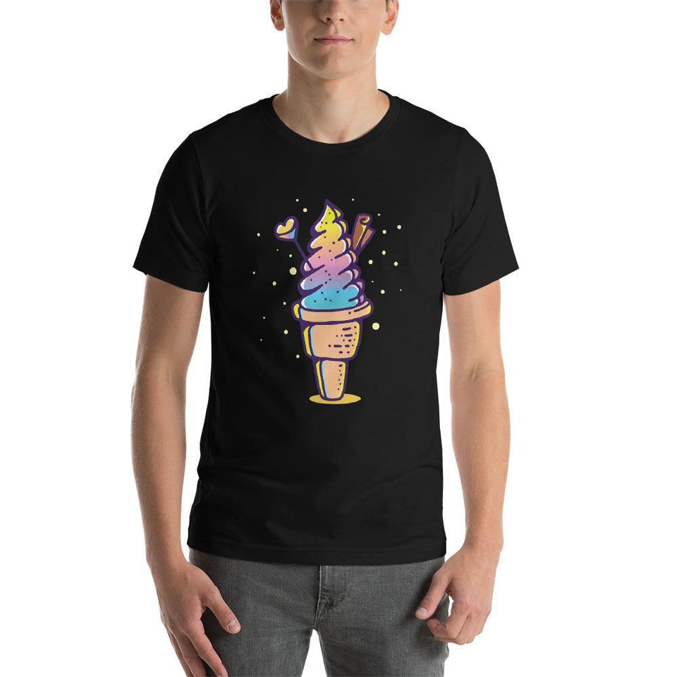 Cute Ice Cream Character T-Shirt SK2 - SecondSkin Store