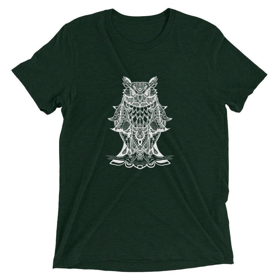 Owl MantraSkin T-Shirt v.1 - SecondSkin Store