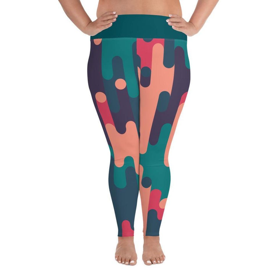 MeltingColors Plus - Leggings - SecondSkin Store