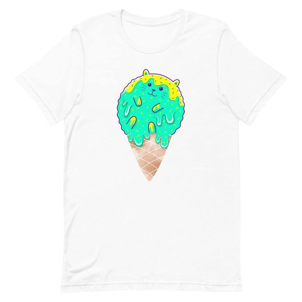 Cute Cats Ice Cream Character Shirt - SecondSkin Store