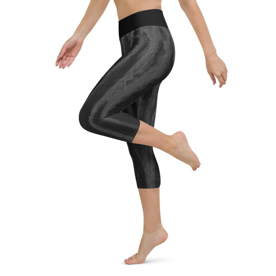 Black Acrylic SK8 Leggings - SecondSkin Store
