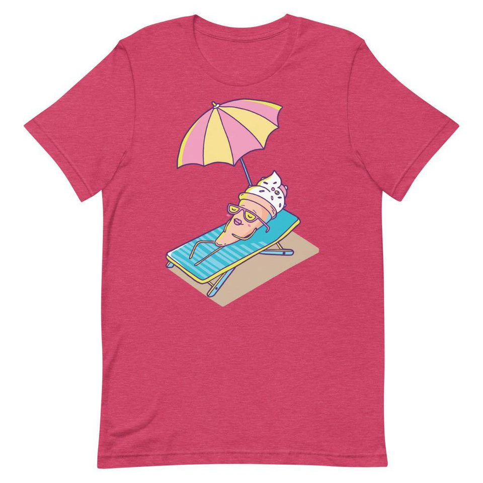 Cute Ice Cream Character T-Shirt SK5 - SecondSkin Store