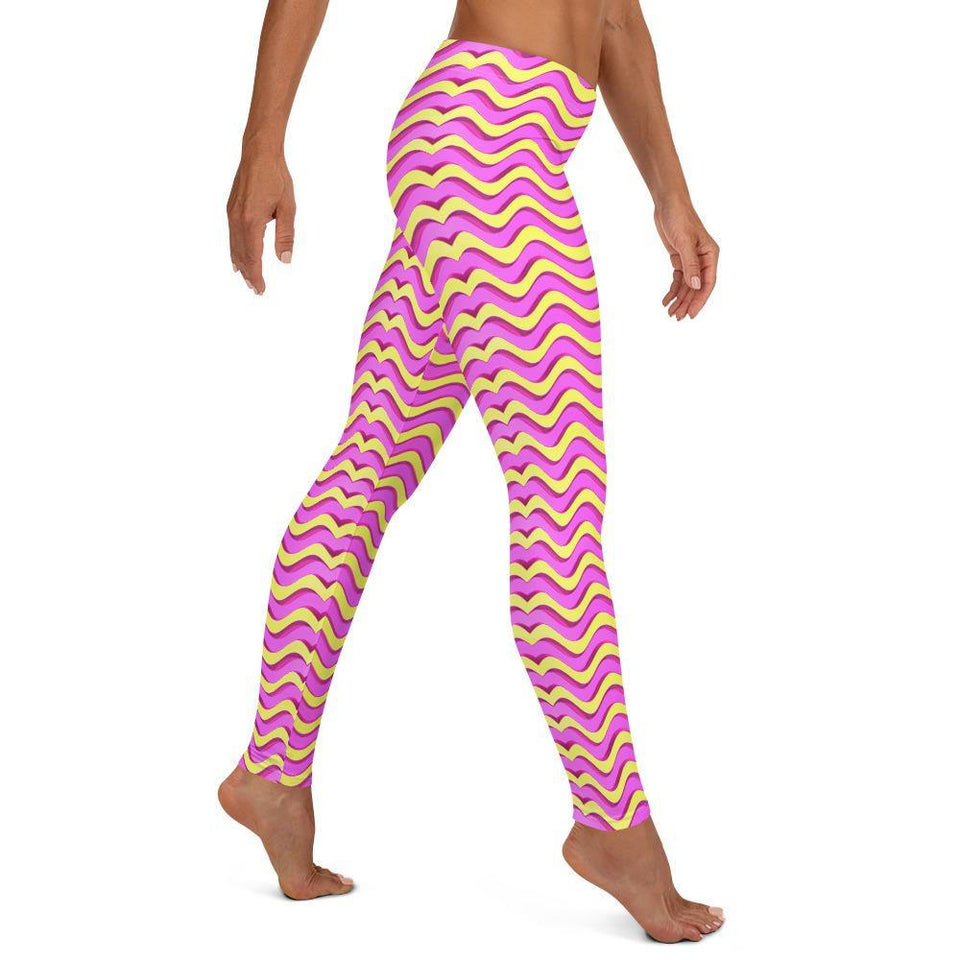 Wave Leggings - SecondSkin Store