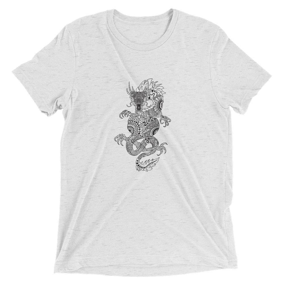 Dragon MandalaSkin T-Shirt v.2 - SecondSkin Store