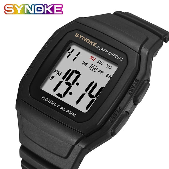 SYNOKE Men's Watches Relogio Masculino Multi Functional Sports