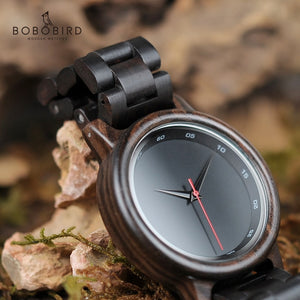reloj mujer BOBO BIRD Wood Watch Men