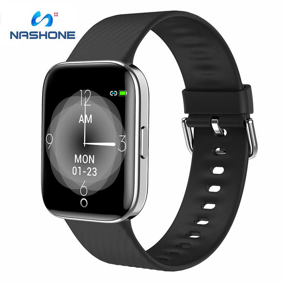 Nashone IP68 Waterproof Smart watch X2 Multiple Sport Model Fitness Tracker Temperature Bluetooth Smart Watch for Android IOS