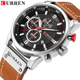 Watches Men's Chronograph Waterproof Sport