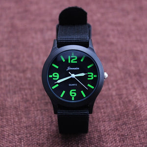 2018 JINNAIER new famous brand men children boys fashion cool sports quartz Saber watches students canvas electronic Wrist watch