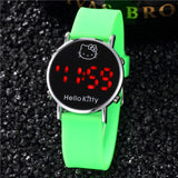 Children Electronic Sport LED Digital Wrist Watch Boys Silicone Watch Girls Watch Cartoon Girl Kids Gift Relogio Infantil Lovely