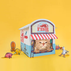 Cat Fish N Chip Kiosk Play House