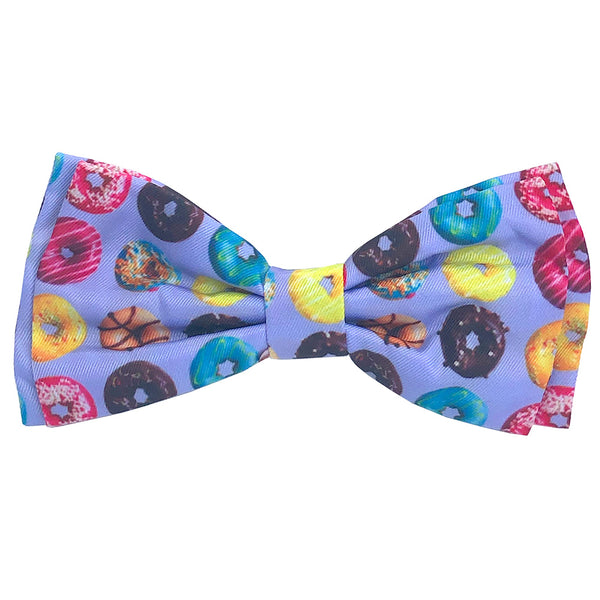 Donut Lovers Dog Bow Tie