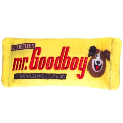 Mr. Goodboy Stuffless Plush Dog Toy