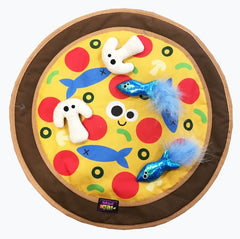 Pizza Purrty Cat Play Mat