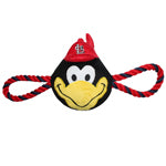 St. Louis Cardinals Mascot Rope Plush Dog Toy
