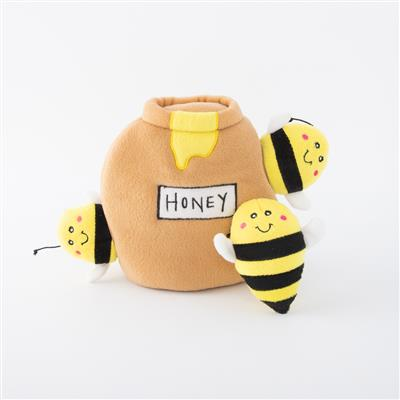 Honey Pot Plush Hide & Seek Dog Toy