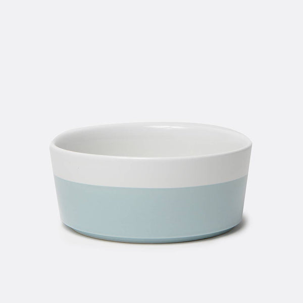 Cloud Dipper Ceramic Dog Bowl