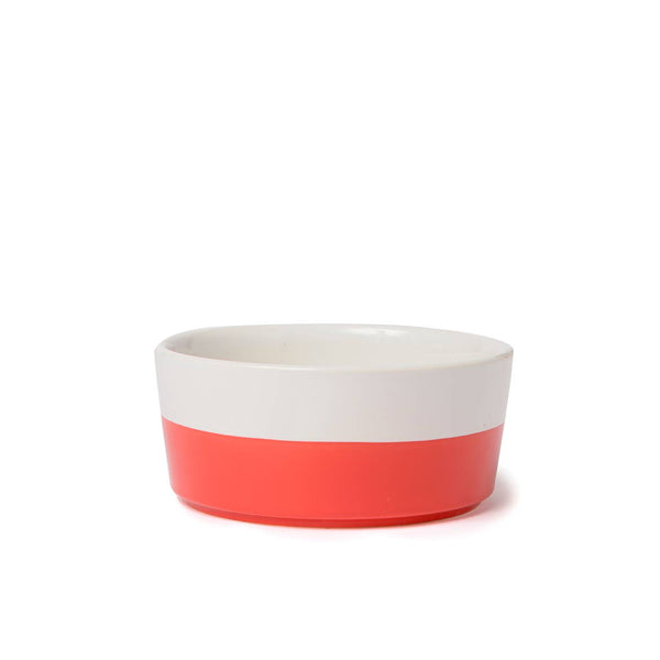 Cherry Dipper Ceramic Dog Bowl