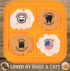 Boredom Busterz Indulge Licking Mat Interactive Dog Toy