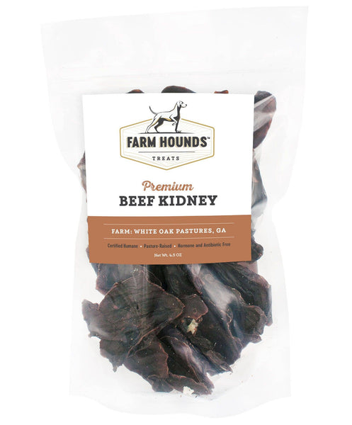 Beef Kidney Dehydrated Dog Treats