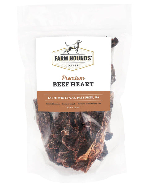 Beef Heart Dehydrated Dog Treats
