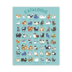 Catalogue Cats Poster