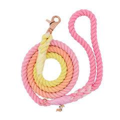 Ombre Rope Dog Lead