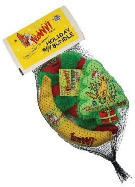 YEOWWW! Holiday Krinkle Catnip Toy Bundle
