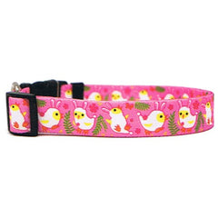 Bunny Chicks Easter Dog Collar