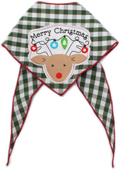 Reindeer Holiday Dog Bandana