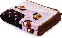 Snuggle Puppy Heart Pet Blanket