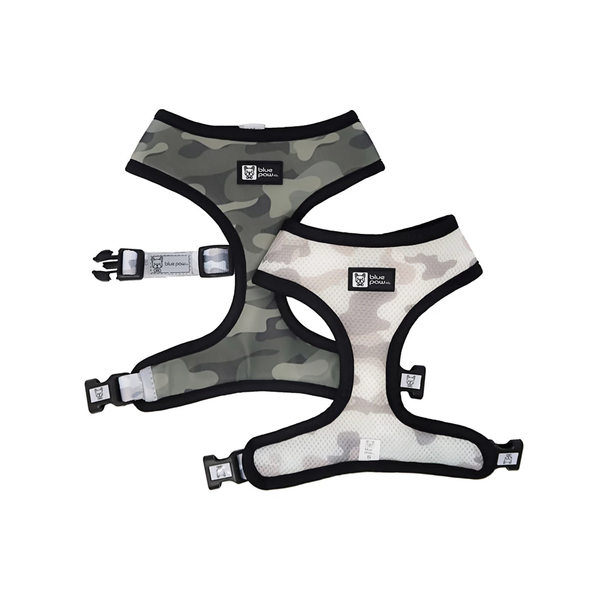 Camo Reversible Dog Harness