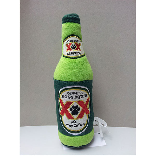 Cerveza Dogs Equis Plush Dog Toy - Lola & Penelope's