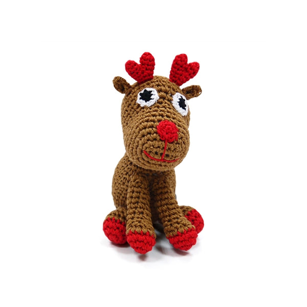 Rudolph Crochet Dog Toy