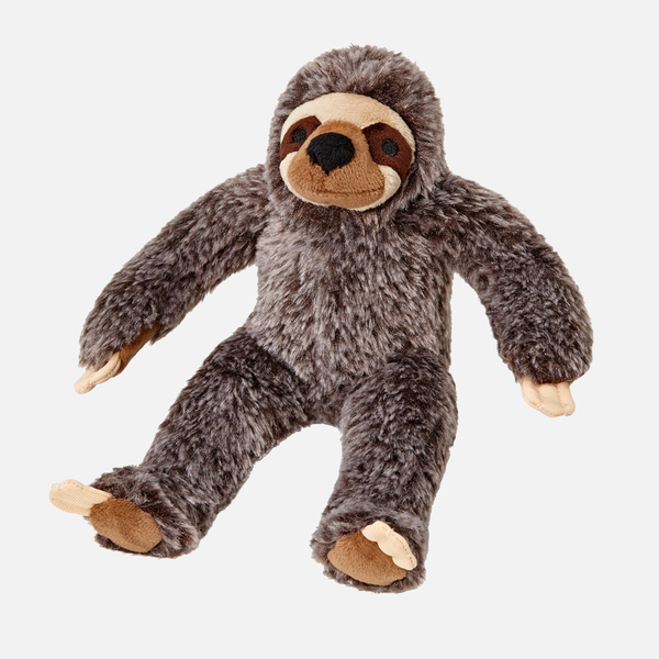 Sonny The Sloth Plush Dog Toy