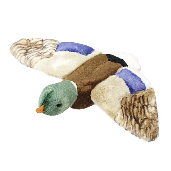 Wally the Mallard Plush Dog Toy