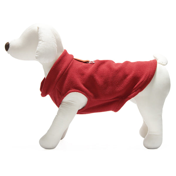 Gooby Fleece Dog Coat - Lola & Penelope's