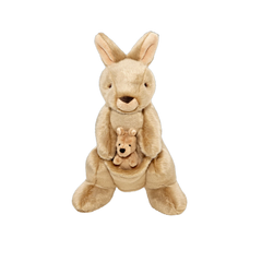 Phoebe & Joey Kangaroo Plush Dog Toy