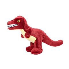 Tiny the T-Rex Plush Dog Toy