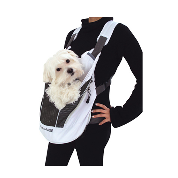 Poochy Pouch Front Facing Back Pack Pet Carrier