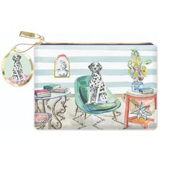 Dalmatian Conservatory Cosmetic Glam Bag